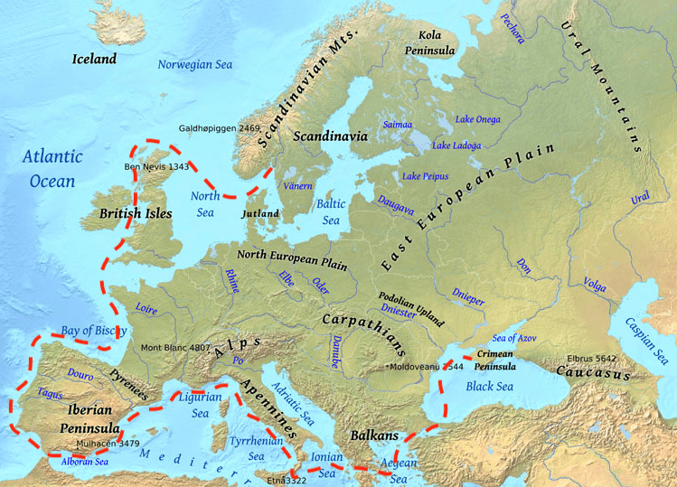 eu-route-map